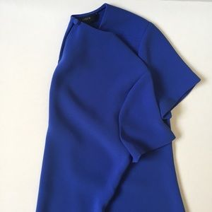 J.Crew Blue Top Blouse Size 6